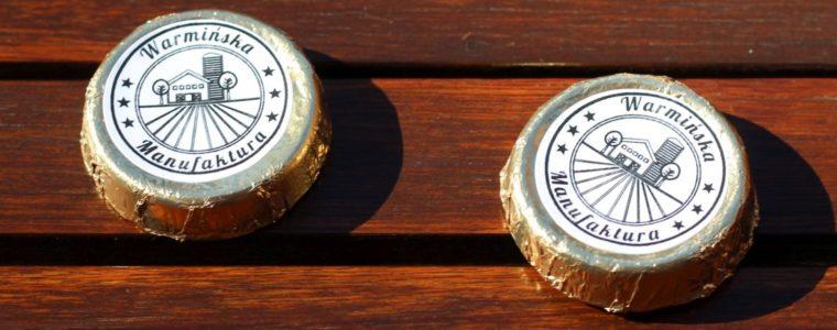 Najtańsze czekoladki z wafelkiem z logo, min. 500 szt.