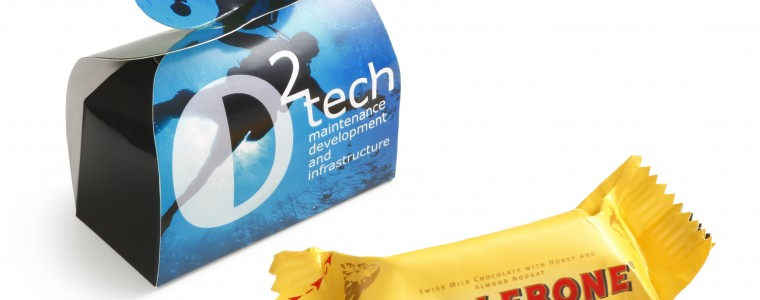 Toblerone w opakowaniu reklamowym, min. 250szt.