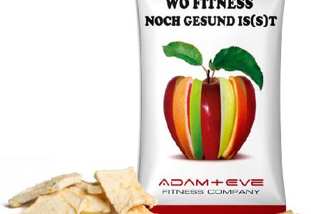 Chipsy jabłkowe flow pack 15g, min. 5 000szt.