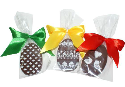 Jajeczka midi z nadrukiem na czekoladzie i bileciku, min. 100szt.