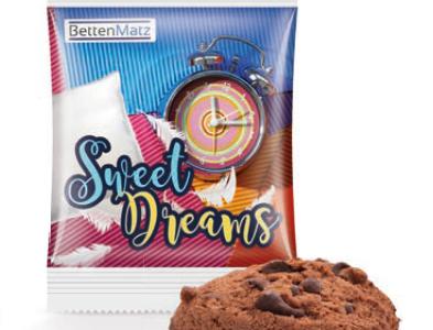 Ciasteczko czekoladowe z nadrukiem reklamowym, min. 1500szt.