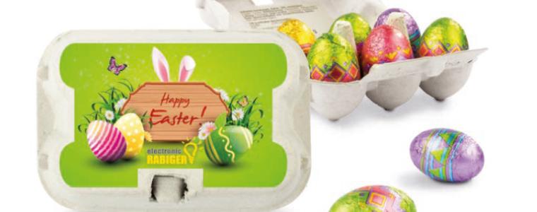Sześciopak z jajeczkami wielkanocnymi, min. 216szt