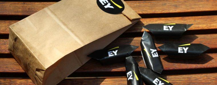 Eko torebka z nalepką i wybraną zawartością, min. 50szt.