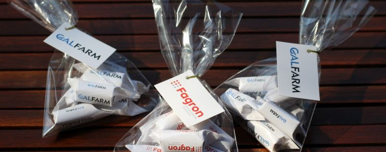 Krówki 100g w torebce z bilecikiem, min. 100szt