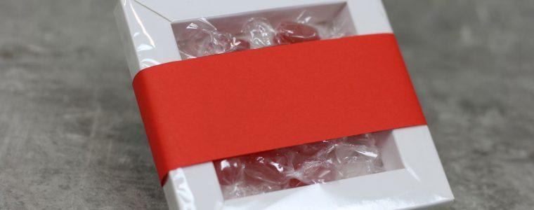 Ramka z cukierkami z obwolutą reklamową min. 100szt