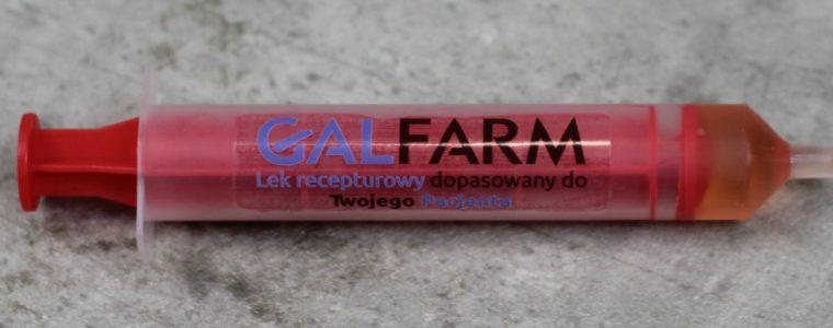 Słodka strzykawka z logo, min. 230szt.