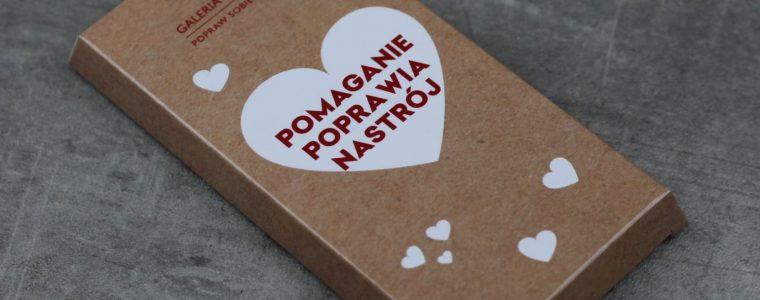 Polska mleczna czekolada w opakowaniu kartonowym 100g, min.100szt.