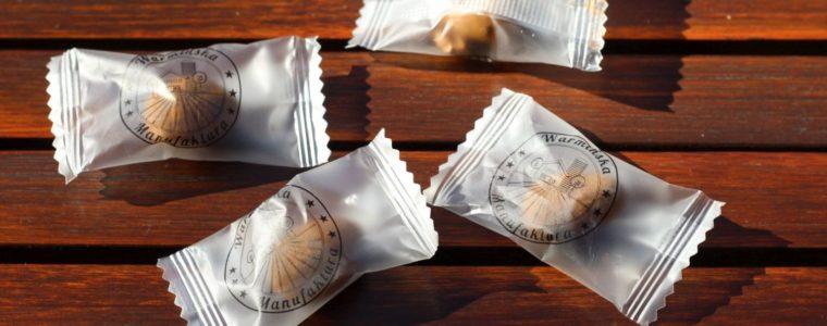 Migdał w czekoladzie z nadrukiem logo na folii, min. 15kg