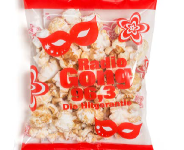 Popcorn reklamowy flowpack 10g, min. 3 000szt.