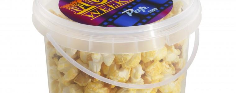 Popcorn 1l z logo na opakowaniu, min. 264 szt.