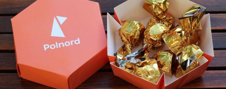 Pudełko sześciokątne z czekoladkami, min. 100 szt