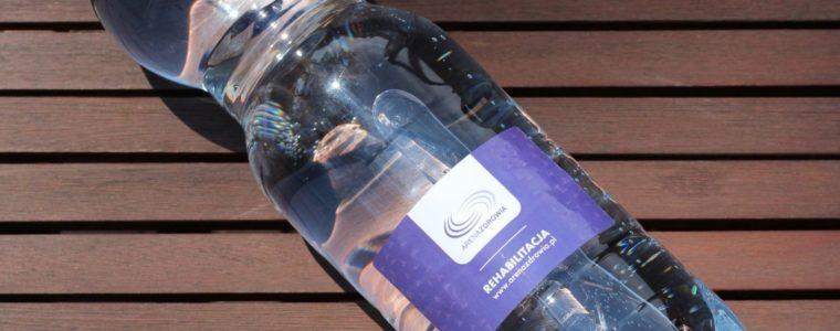 Woda reklamowa z logo 1,5l, min. 100szt.