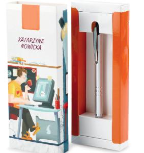 Etui na długopis/pióro/ołówek z logo, min. 25szt.