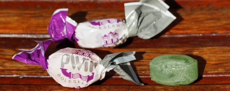 Polskie cukierki owocowe lub miętowe 3g lub 6g, min. 25 kg