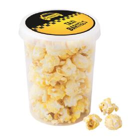 Popcorn w 0,5l kubełku z nalepką reklamową, min. 384szt.