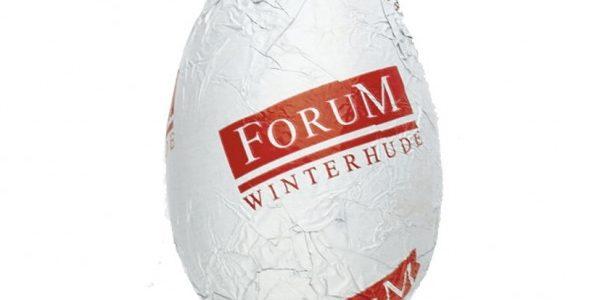 Jajko czekoladowe z nadrukiem na folii, min. 5000szt.