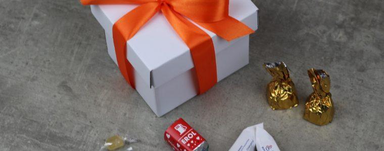 GIFTBOX Słodki prezent z logo, min. 25szt!