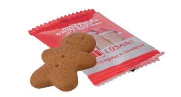 Ciastek cookie z logo, min. 3000szt.