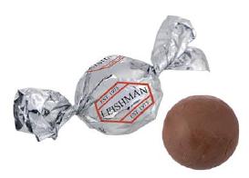 Praliny czekoladowe w folii reklamowej, min. 2200szt.