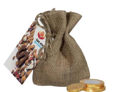 Sakiewka czekoladowych eurasów, min. 250szt.