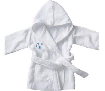Szlafrok niemowlęcy z logo, min. 50szt.