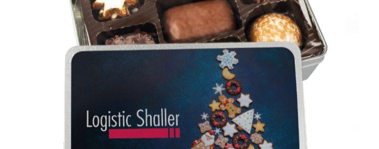 Puszka z ciasteczkami świątecznymi, min. 72szt.